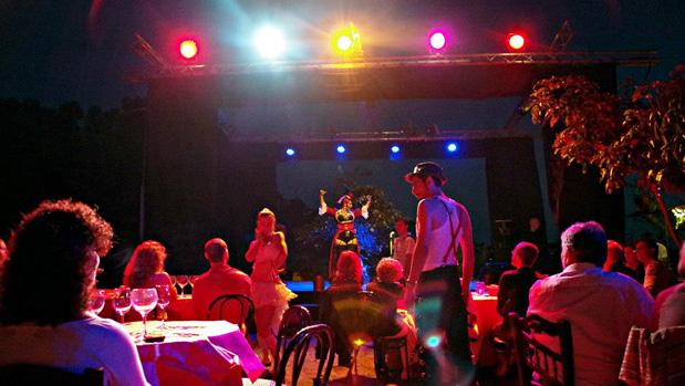 alquiler material técnico y montaje de espectáculos en Granada