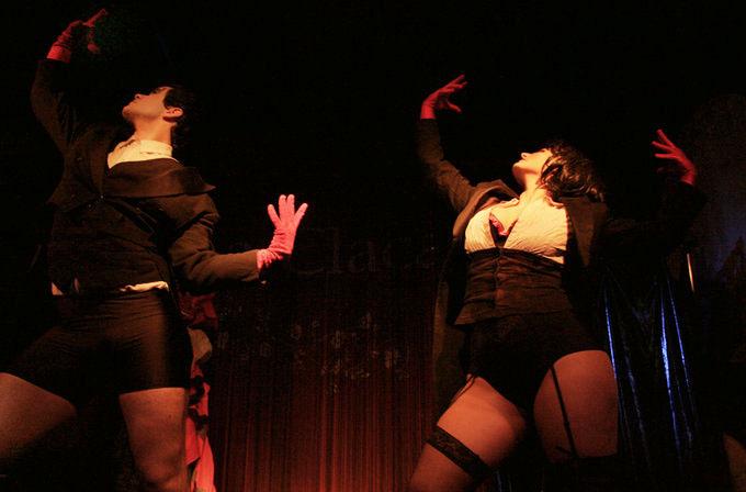 espectáculos cafe-cabaret de La Petite